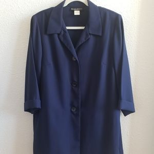 VTG Wear Abouts navy blazer
